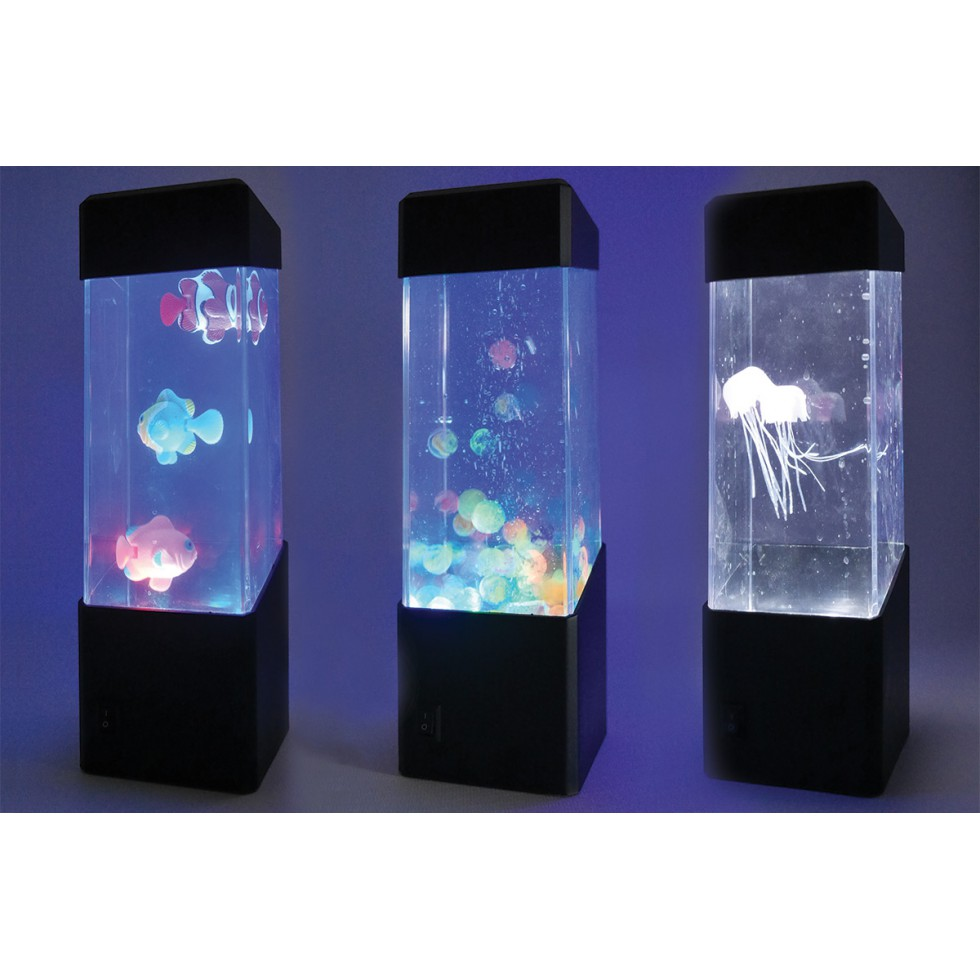 mini aquarium lumineux hop la vie. Black Bedroom Furniture Sets. Home Design Ideas