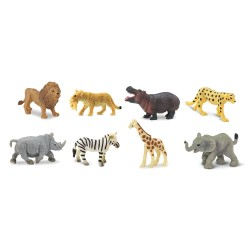 Mini figurines Savane